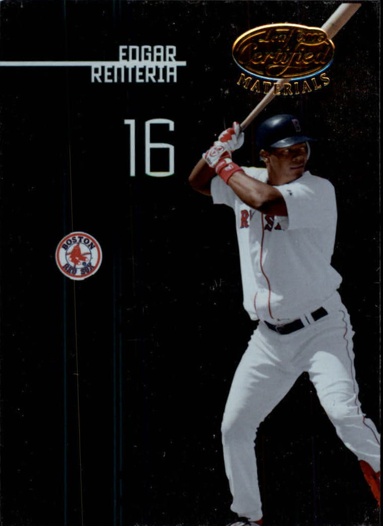 2005 Leaf Certified Materials #39 Edgar Renteria