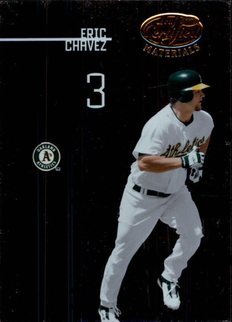 2005 Leaf Certified Materials #41 Eric Chavez