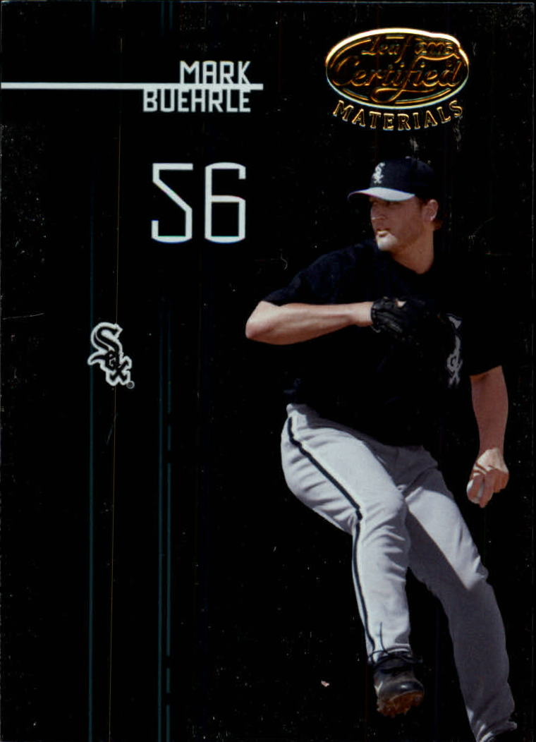 2005 Leaf Certified Materials #101 Mark Buehrle