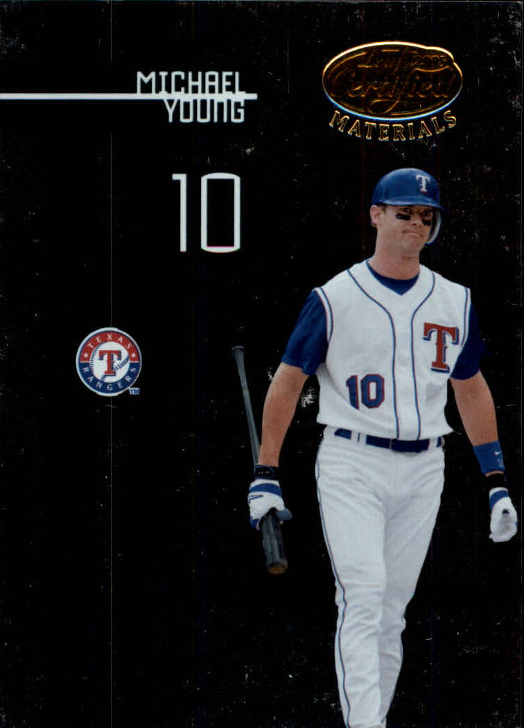 2005 Leaf Certified Materials #109 Michael Young