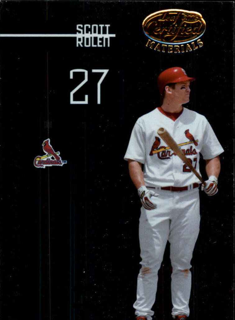 2005 Leaf Certified Materials #133 Scott Rolen