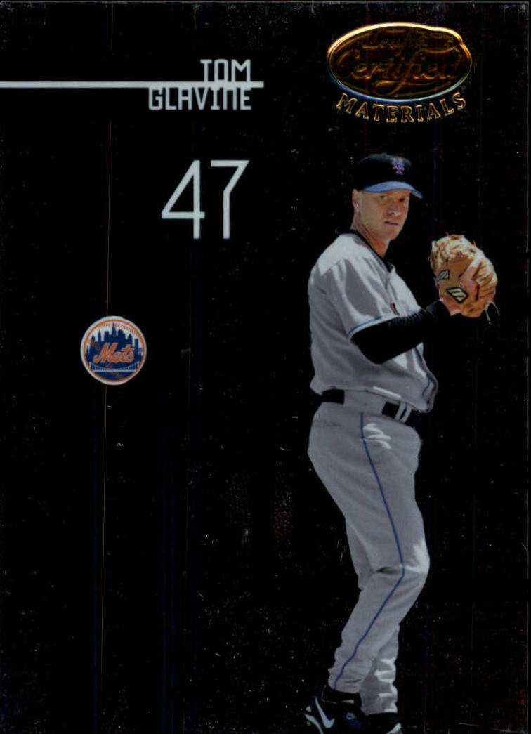 2005 Leaf Certified Materials #142 Tom Glavine Mets