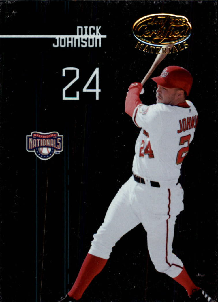 2005 Leaf Certified Materials #163 Nick Johnson