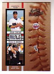 2005 Leather and Lumber Rivals #16 J.Santana/M.Ordonez
