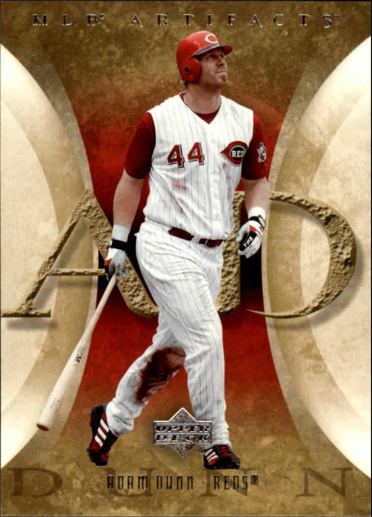 2005 Artifacts #1 Adam Dunn