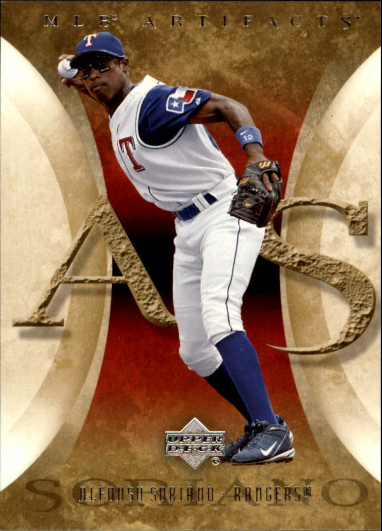 2005 Artifacts #5 Alfonso Soriano