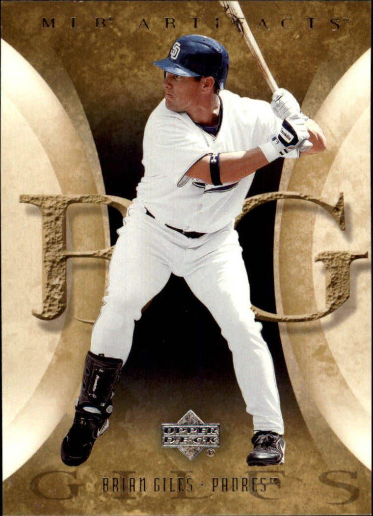 2005 Artifacts #16 Brian Giles