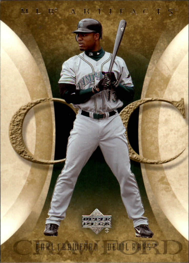2005 Artifacts #17 Carl Crawford