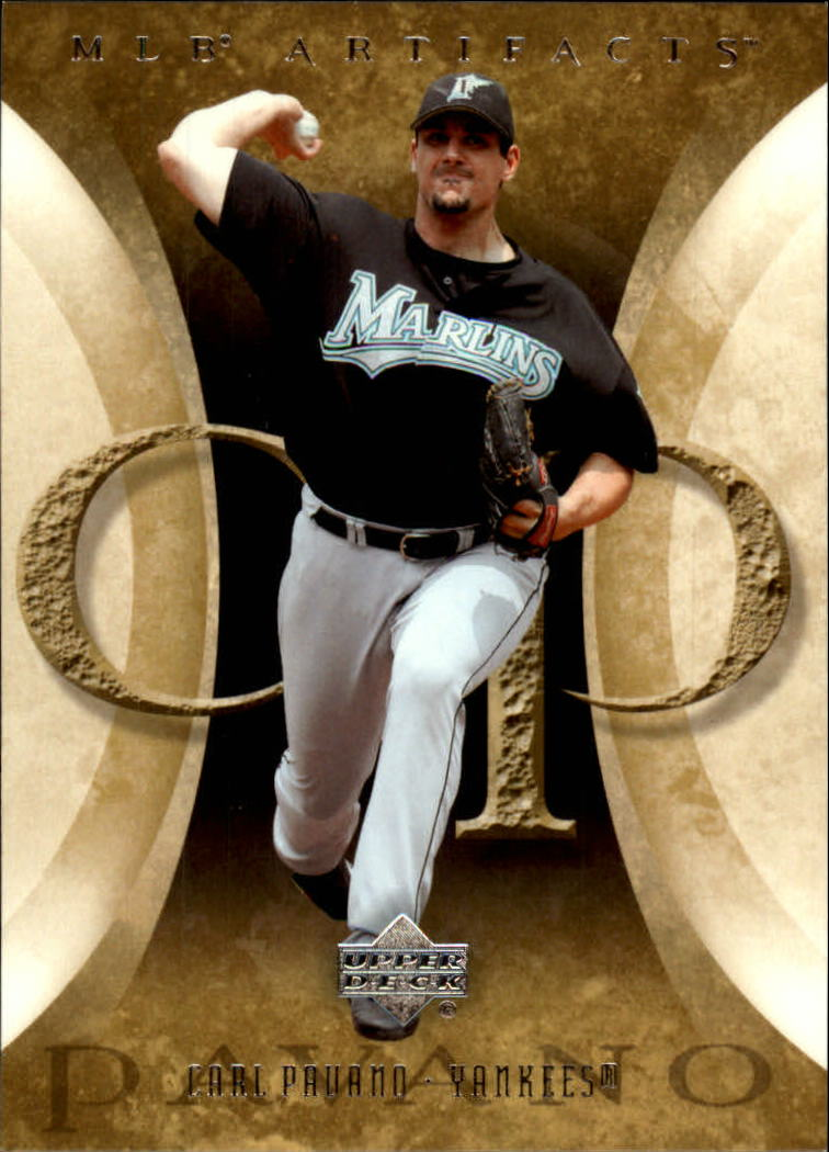 2005 Artifacts #18 Carl Pavano