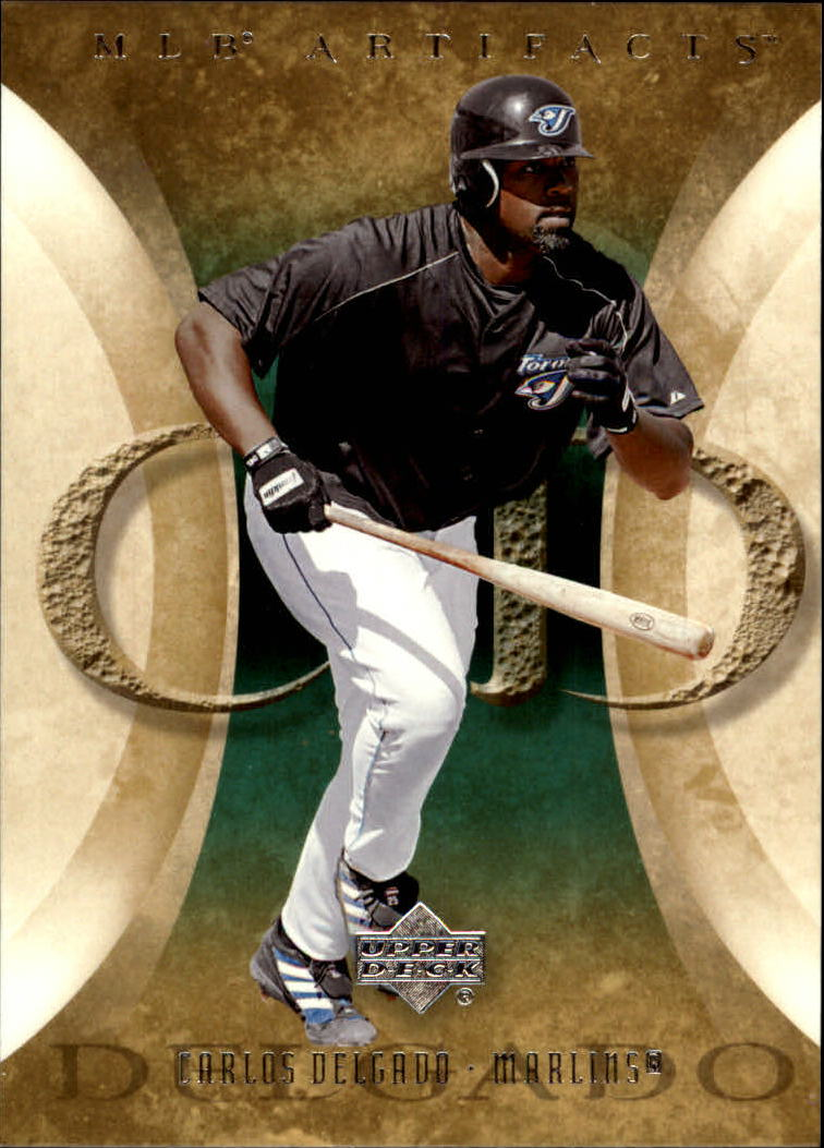 2005 Artifacts #20 Carlos Delgado