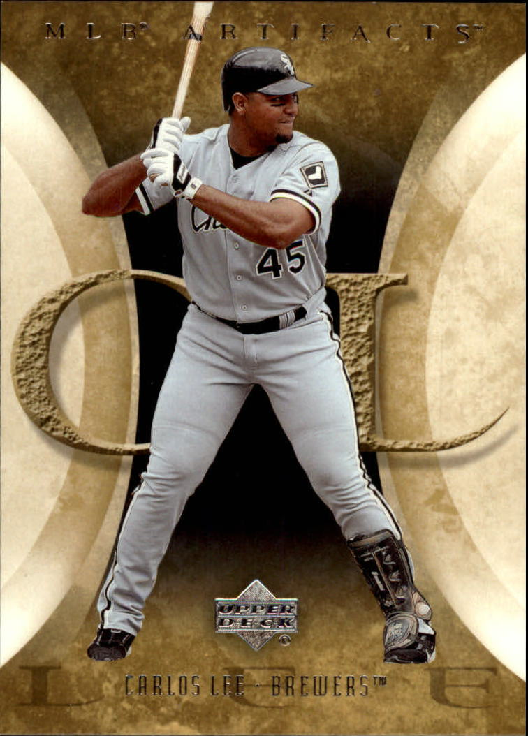 2005 Artifacts #22 Carlos Lee