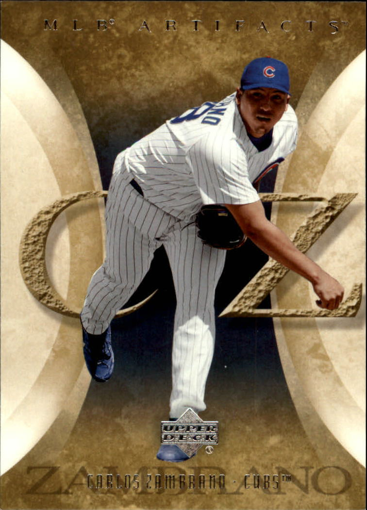 2005 Artifacts #23 Carlos Zambrano