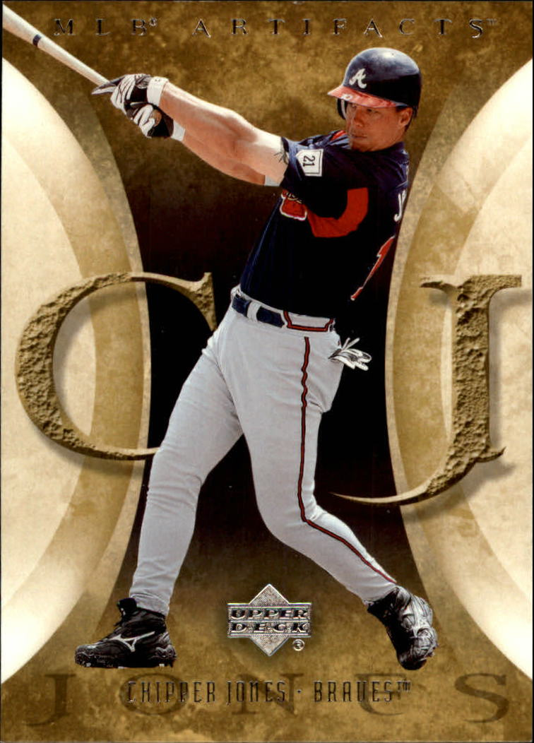 2005 Artifacts #24 Chipper Jones