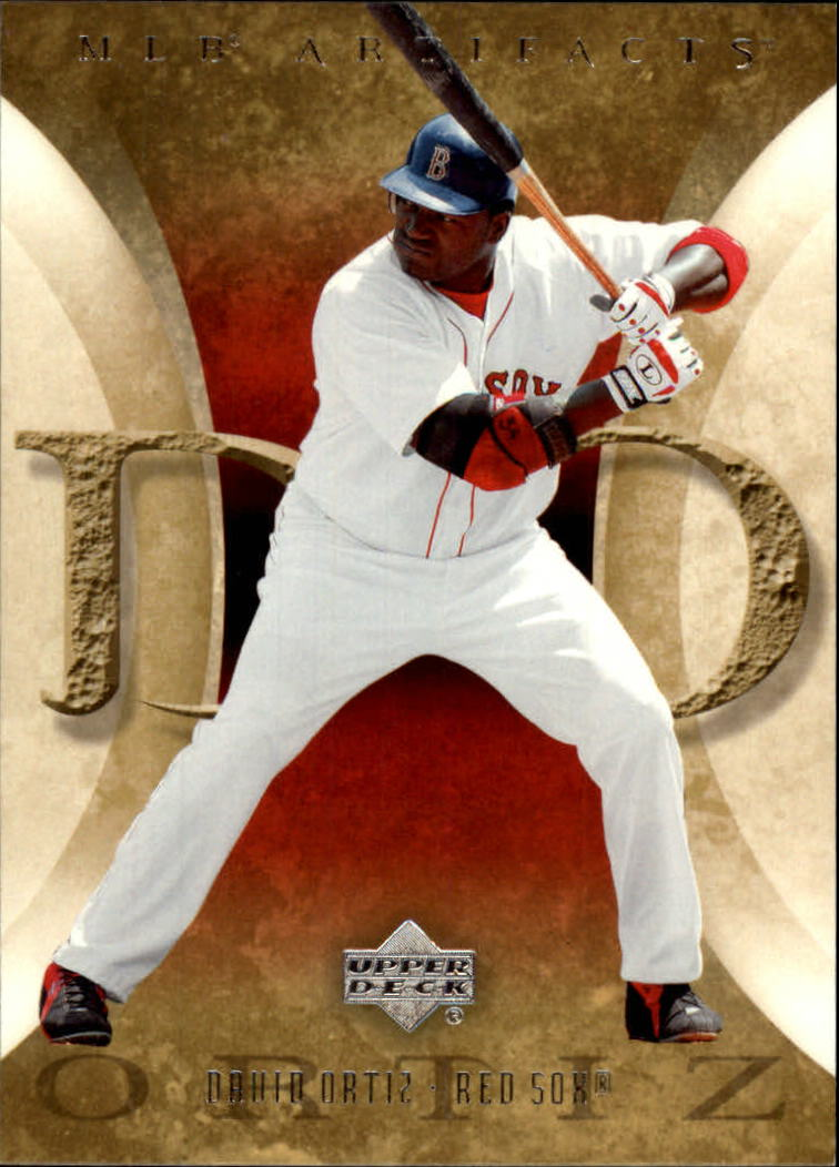 2005 Artifacts #28 David Ortiz