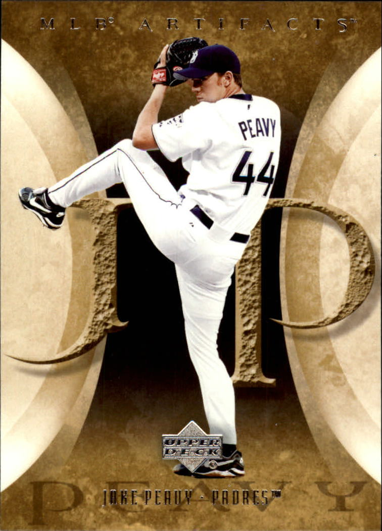 2005 Artifacts #41 Jake Peavy
