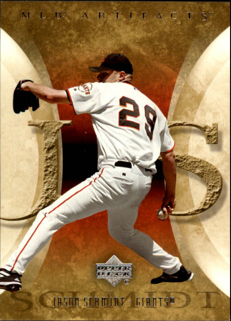 2005 Artifacts #43 Jason Schmidt