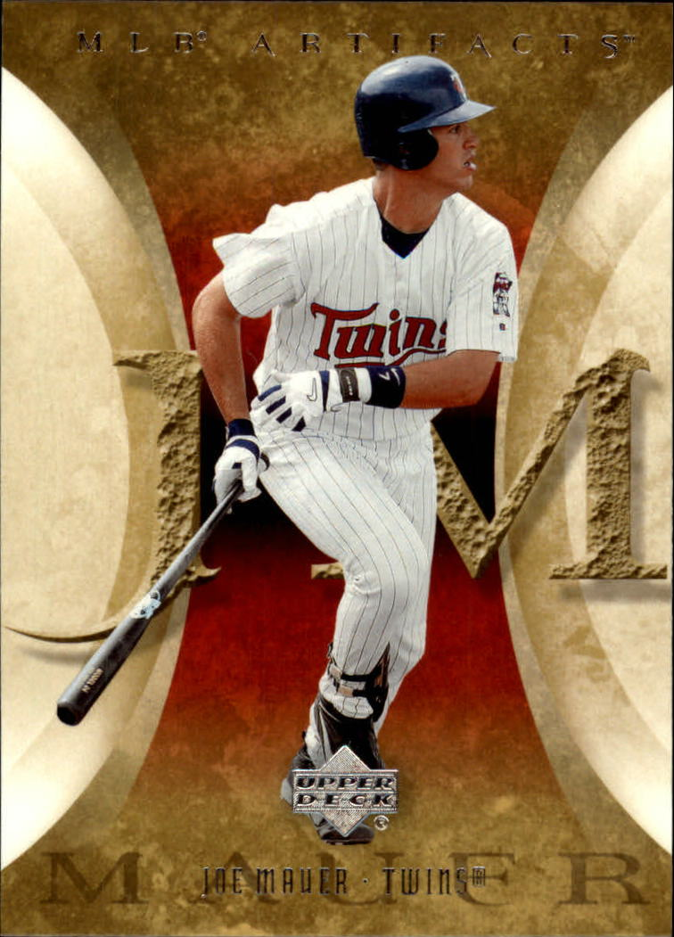 2005 Artifacts #48 Joe Mauer