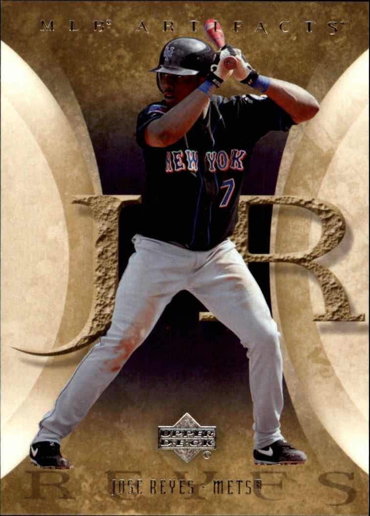 2005 Artifacts #51 Jose Reyes