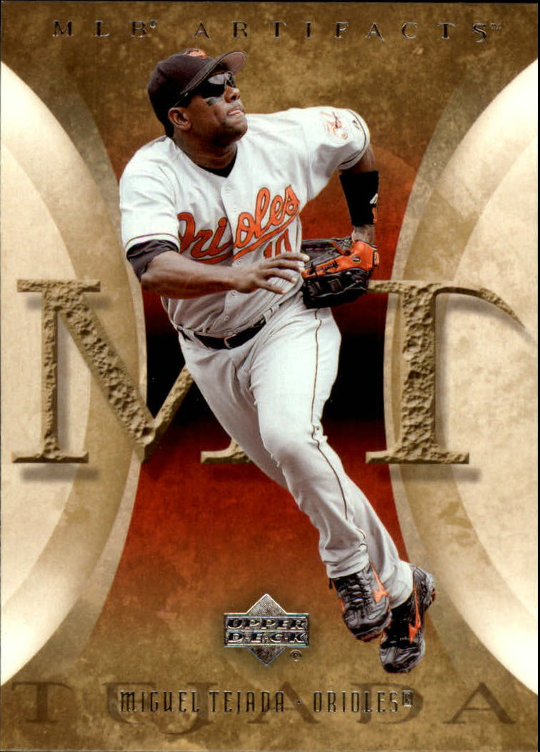 2005 Artifacts #70 Miguel Tejada
