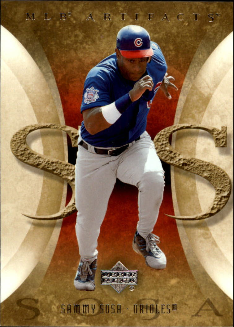 2005 Artifacts #87 Sammy Sosa