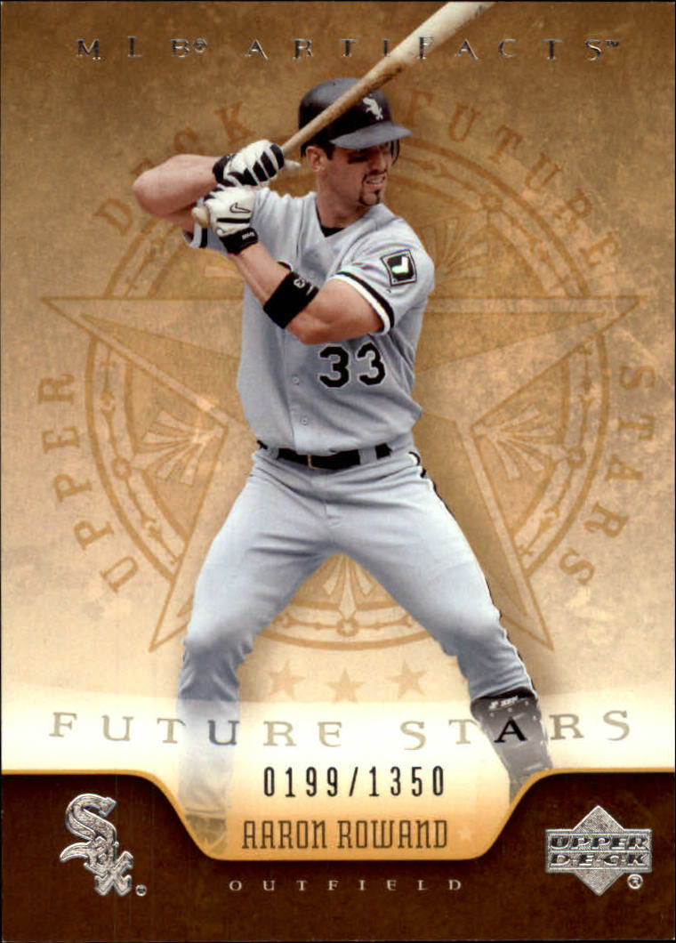 2005 Artifacts #101 Aaron Rowand FS