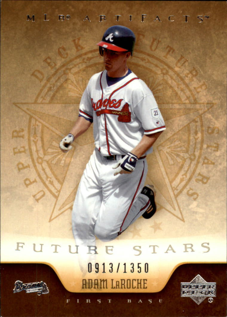 2005 Artifacts #102 Adam LaRoche FS