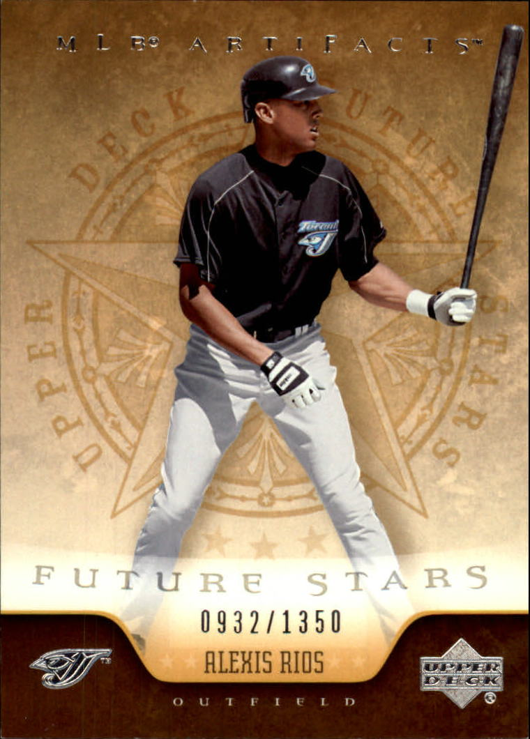 2005 Artifacts #104 Alexis Rios FS