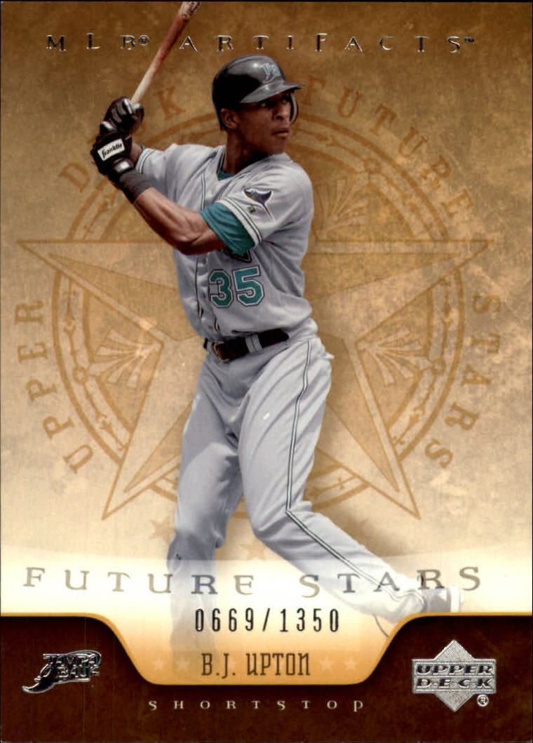 2005 Artifacts #106 B.J. Upton FS