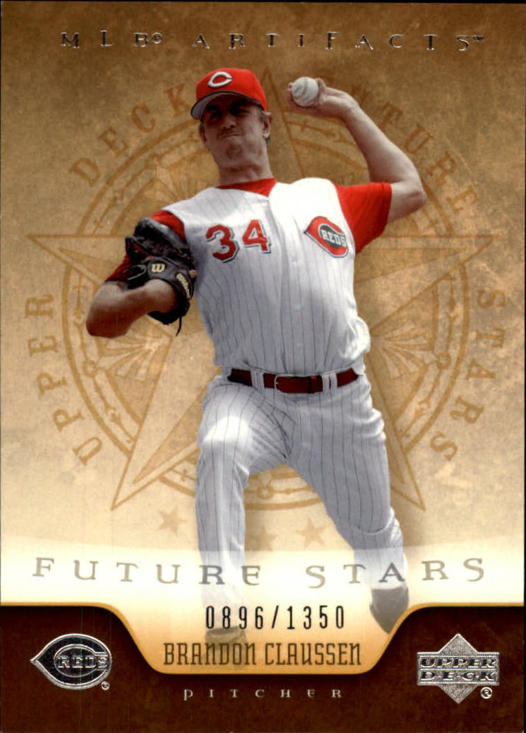 2005 Artifacts #109 Brandon Claussen FS