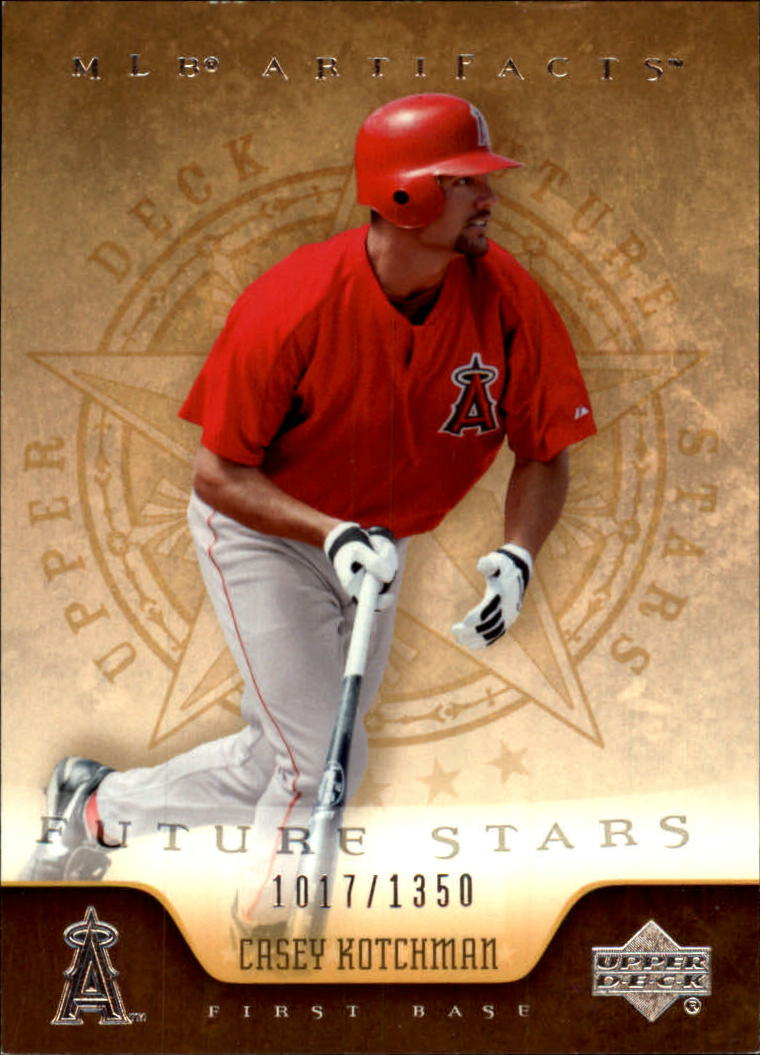 2005 Artifacts #111 Casey Kotchman FS