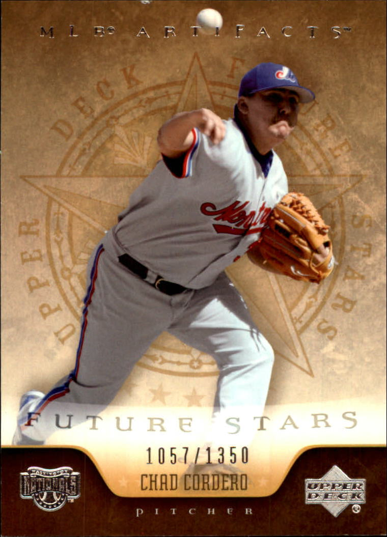 2005 Artifacts #112 Chad Cordero FS