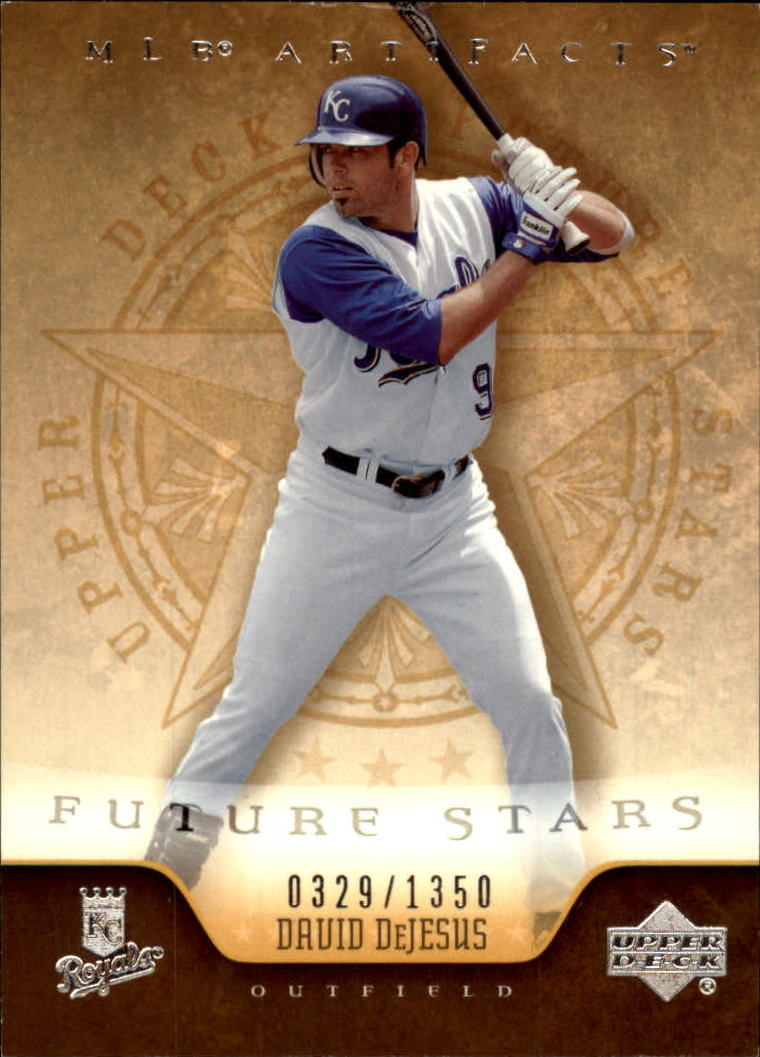 2005 Artifacts #117 David DeJesus FS