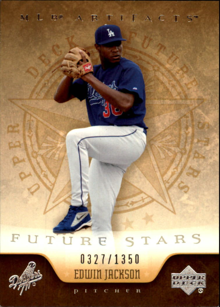 2005 Artifacts #120 Edwin Jackson FS
