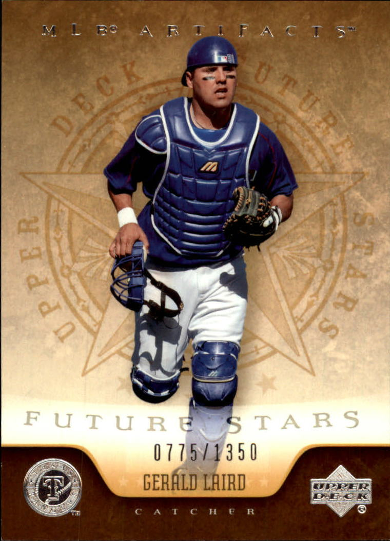 2005 Artifacts #124 Gerald Laird FS