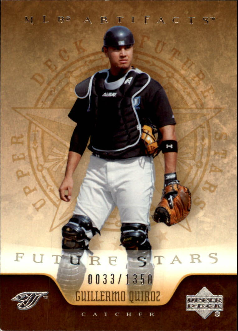2005 Artifacts #125 Guillermo Quiroz FS