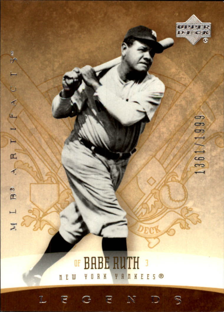 2005 Artifacts #152 Babe Ruth LGD