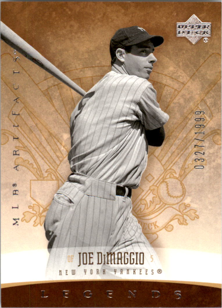 2005 Artifacts #173 Joe DiMaggio LGD