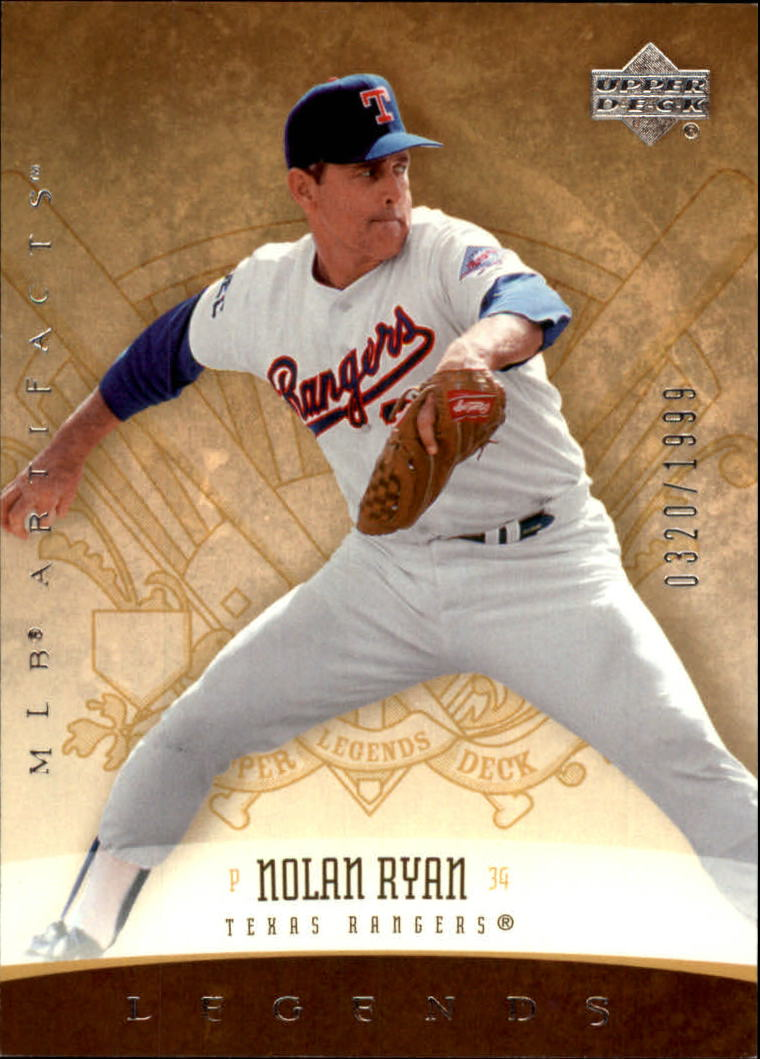 2005 Artifacts #183 Nolan Ryan LGD