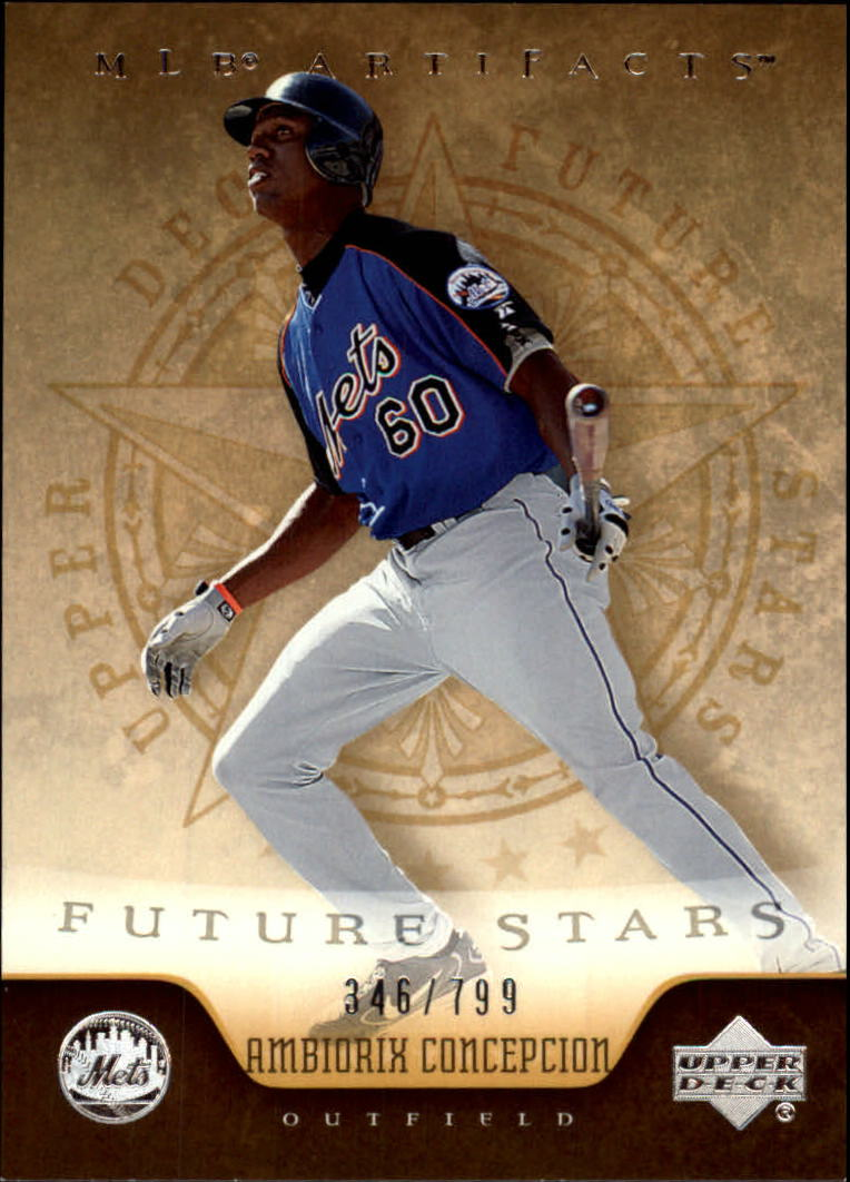 2005 Artifacts #203 Ambiorix Concepcion FS RC
