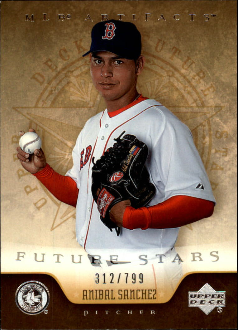2005 Artifacts #204 Anibal Sanchez FS RC