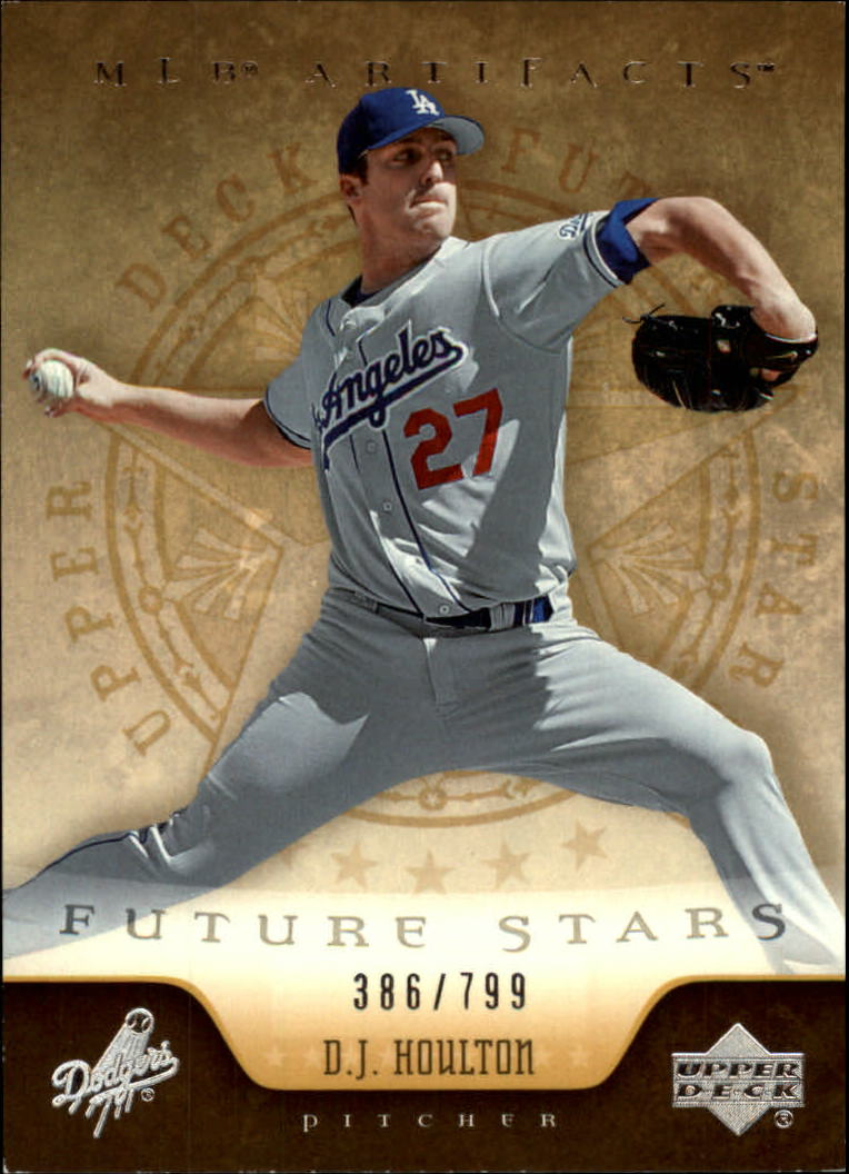 2005 Artifacts #218 D.J. Houlton FS RC