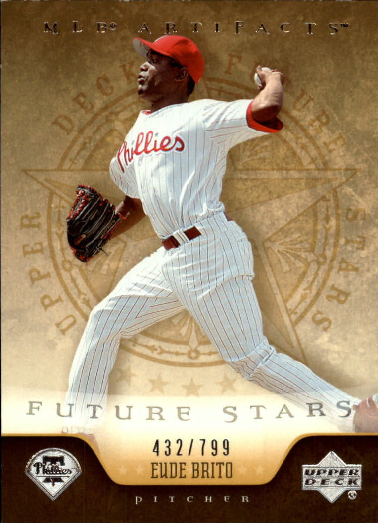 2005 Artifacts #222 Eude Brito FS RC