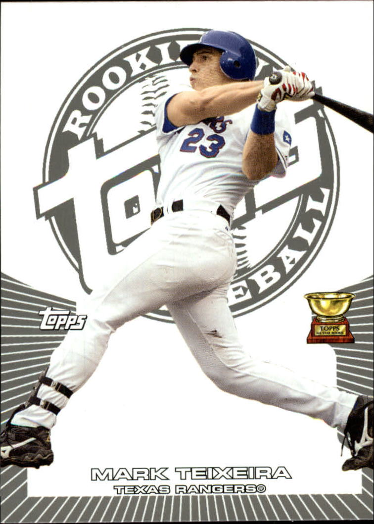 2005 Topps Rookie Cup #136 Mark Teixeira