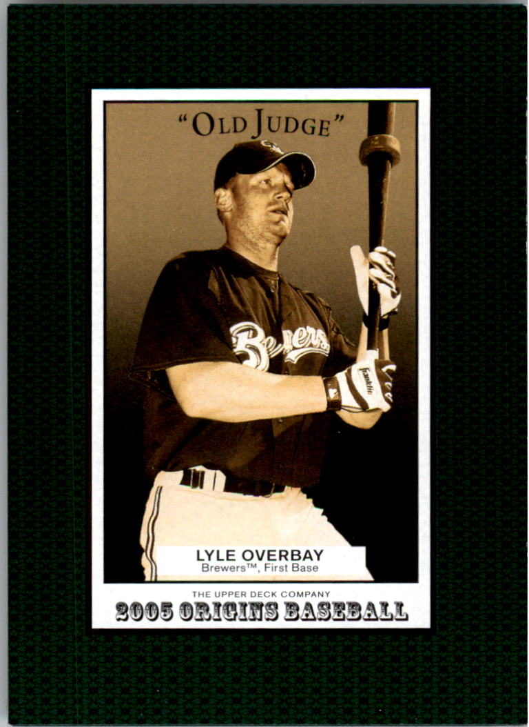 2005 Origins Old Judge #63 Lyle Overbay