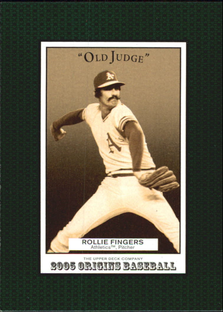 2005 Origins Old Judge #128 Rollie Fingers RET