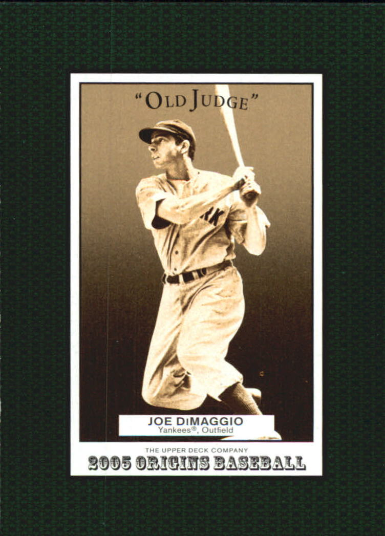 2005 Origins Old Judge #146 Joe DiMaggio RET front image