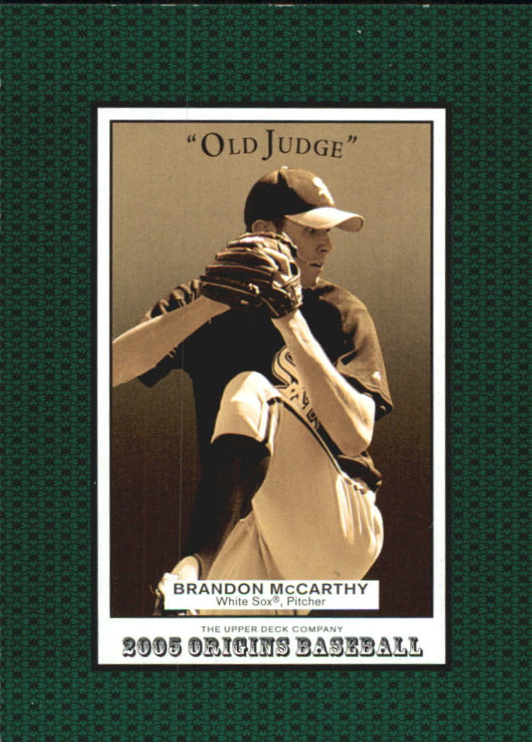 2005 Origins Old Judge #206 Brandon McCarthy YS RC