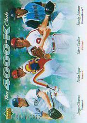 2005 Upper Deck 4000 Strikeout #CRCJ Carlton/Ryan/Clem/Randy