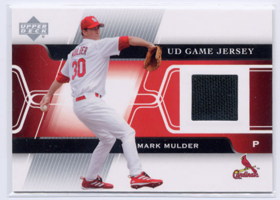 2005 Upper Deck Game Jersey #MM Mark Mulder