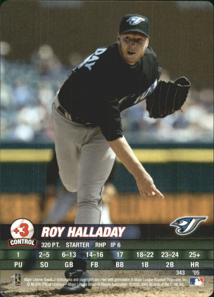 2005 MLB Showdown #343 Roy Halladay
